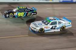 Mario Gosselin, King Autosport Chevrolet en Brennan Poole, HScott Motorsports, met Chip Ganassi