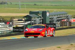 #77 Ferrari Quebec, Ferrari 458: Emmanuel Anassis