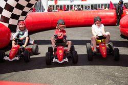 Kinder, Ferrari Racing