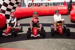 Childrens Ferrari racing