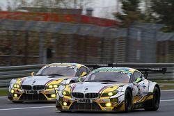 #25 BMW Sports Trophy Team Marc VDS BMW Z4 GT3: Lucas Luhr, Markus Palttala, Richard Westbrook en #2