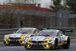 #25 BMW Sports Trophy Team Marc VDS BMW Z4 GT3: Lucas Luhr, Markus Palttala, Richard Westbrook and #