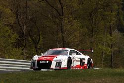 #5 Marcel Fässler, Christopher Haase, Frank Stippler Audi Sport Team Phoenix R8 LMS