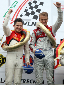 Winners Christopher Mies and Nico Müller Audi Sport Team WRT