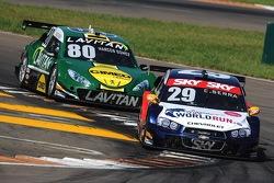 Daniel Serra, #29 Red Bull Racing en Marcos Gomes, #80 Voxx Racing Team