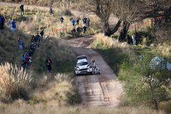 Jari Ketomaa und Kaj Lindstrom, Ford Fiesta R5, Drive Dmack