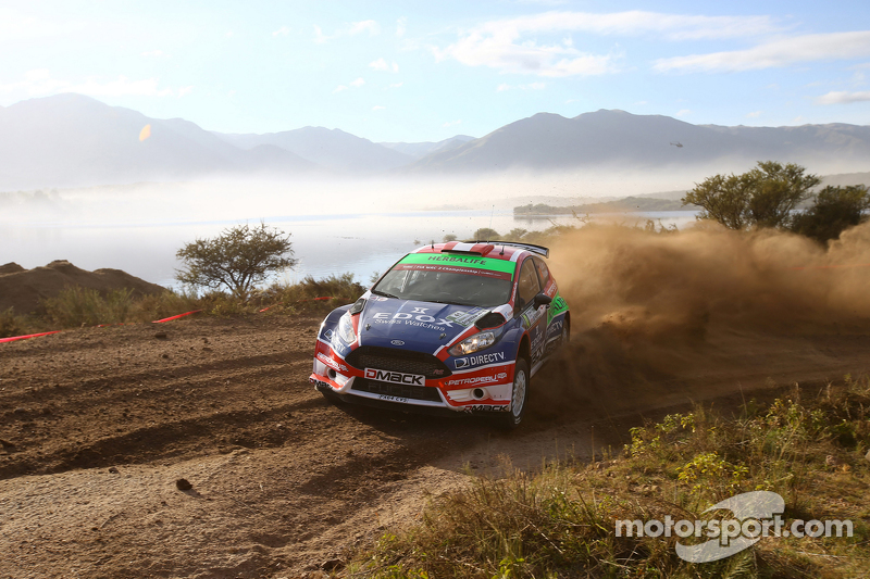 Nicolas Fuchs und Fernando Mussano, Ford Fiesta R5, Drive Dmack
