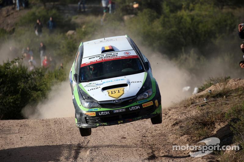 Simone Tempestini - Matteo Chiarcossi, Subaru Impreza, Napoca Rally Academy