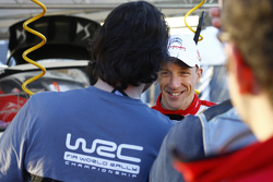 Le vainqueur Kris Meeke, Citroën World Rally Team