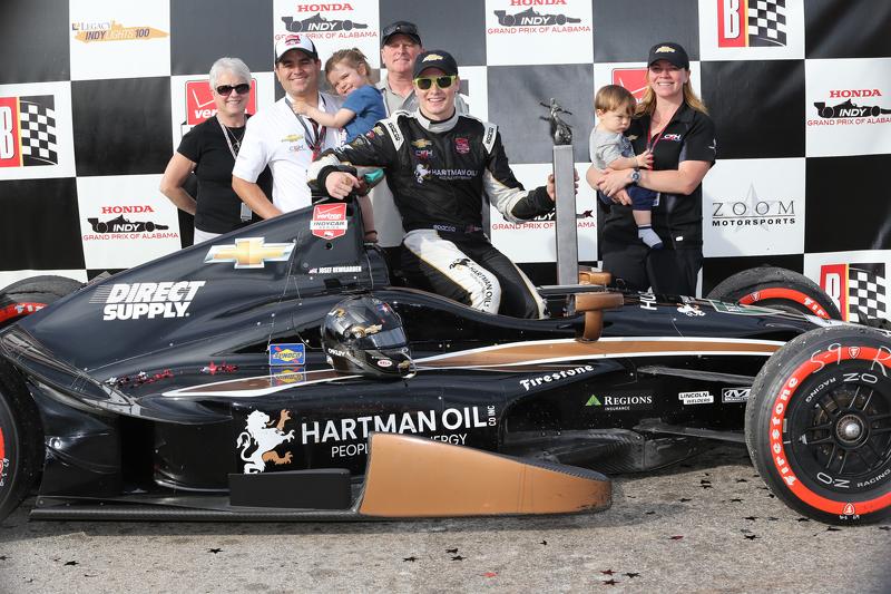 1.  Josef Newgarden, CFH Racing