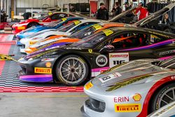 Ferrari Challenge cars