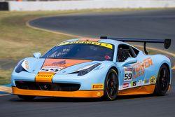 #59 Ferrari of Fort Lauderdale Ferrari 458: John Farano