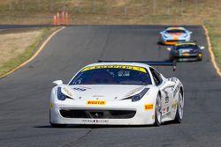 #99 Ferrari of Vancouver Ferrari 458: Wei Lu
