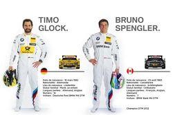 Timo Glock et Bruno Spengler