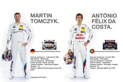 Martin Tomczyk et Antonio Felix Da Costa