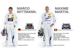 Marco Wittmann et Maxime Martin