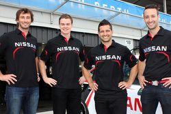 Dean Fiore, Taz Douglas, Michael Caruso, James Moffat, Nissan Motorsport