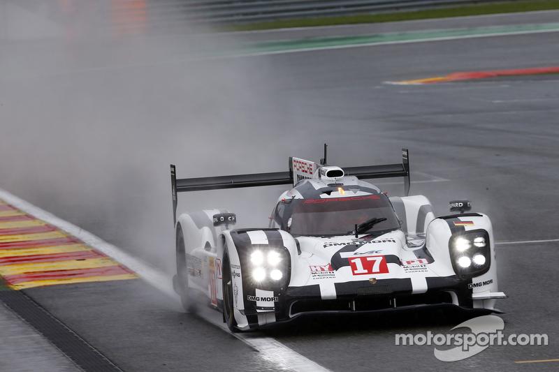 #17 Porsche Team, Porsche 919 Hybrid: Timo Bernhard, Mark Webber, Brendan Hartley