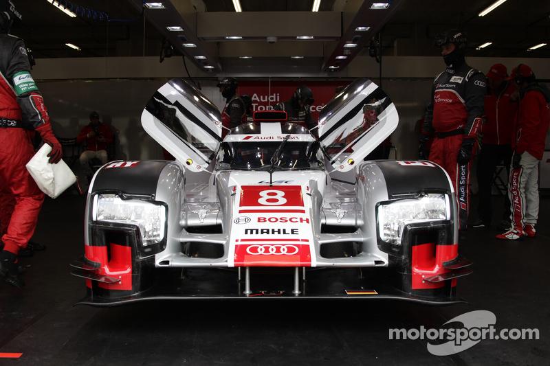 #8 Audi Sport Team Joest, Audi R18 e-tron quattro Lucas di Grassi, Loic Duval, Oliver Jarvis