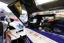 ستيفان سارازين، سباق ريسينغ تي اس040 الهجينة
