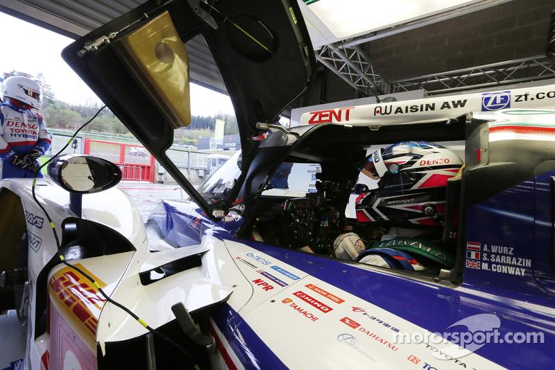 Stéphane Sarrazin, Toyota Racing, TS040 Hybrid
