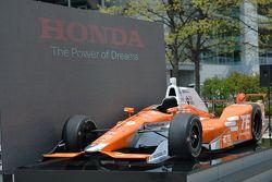Andretti Autosport Honda of Simona de Silvestro