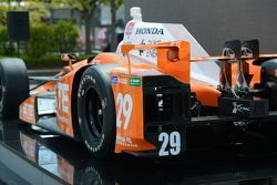 La Honda Andretti Autosport de Simona de Silvestro