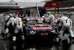 Boxenstopp für Antonio Felix da Costa, BMW Team Schnitzer, BMW M4 DTM
