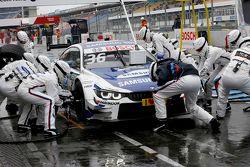 Boxenstopp für Maxime Martin, BMW Team RMG, BMW M4 DTM