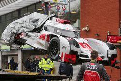 #8 Audi Sport Team Joest Audi R18 e-tron quattro Hybrid: Lucas di Grassi, Loic Duval, Oliver Jarvis