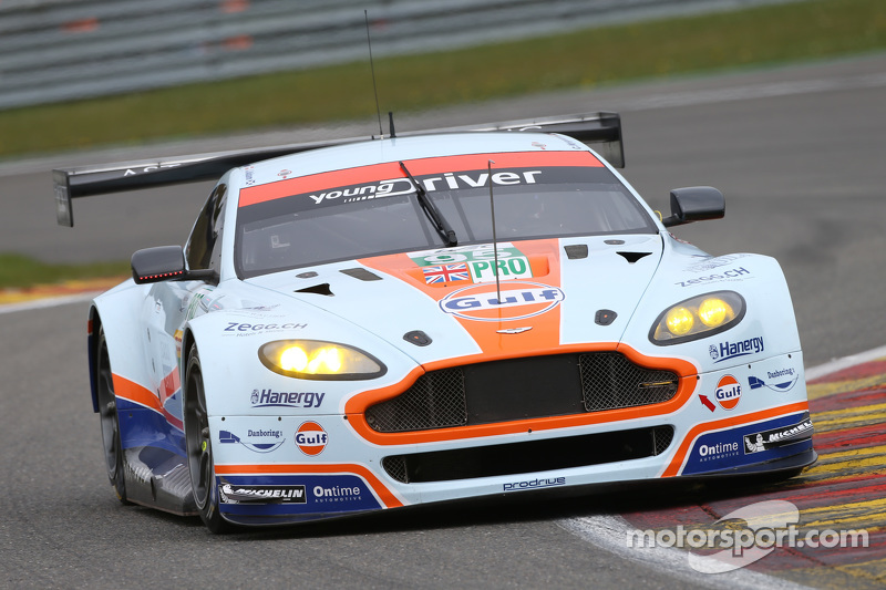 #95 Aston Martin Vantage V8: Christoffer Nygaard, Marco Sorensen