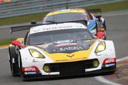 #50 Larbre Competition, Chevrolet Corvette C7: Gianluca Roda, Paolo Ruberti, Kristian Poulsen