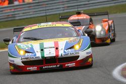 #51 AF Corse, Ferrari F458 Italia: Gianmaria Bruni, Toni Vilander