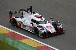 #9 Audi Sport Team Joest Audi R18 e-tron quattro Hybrid: Filipe Albuquerque, Marco Bonanomi, Rene Rast
