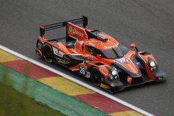 Ligier JS P2 Nissan команды G-Drive Racing: Роман Русинов, Жюльен Каналь, Сэм Бёрд