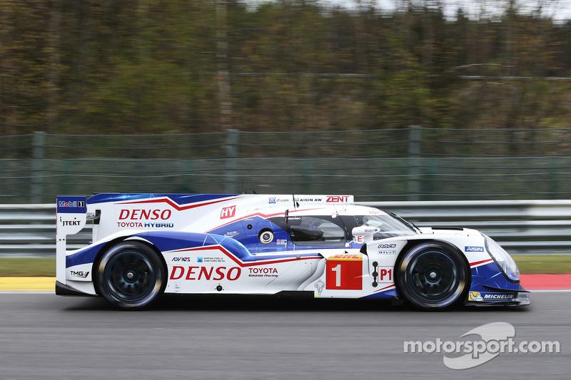 #1 Toyota Racing, Toyota TS040 Hybrid: Anthony Davidson, Sebastien Buemi