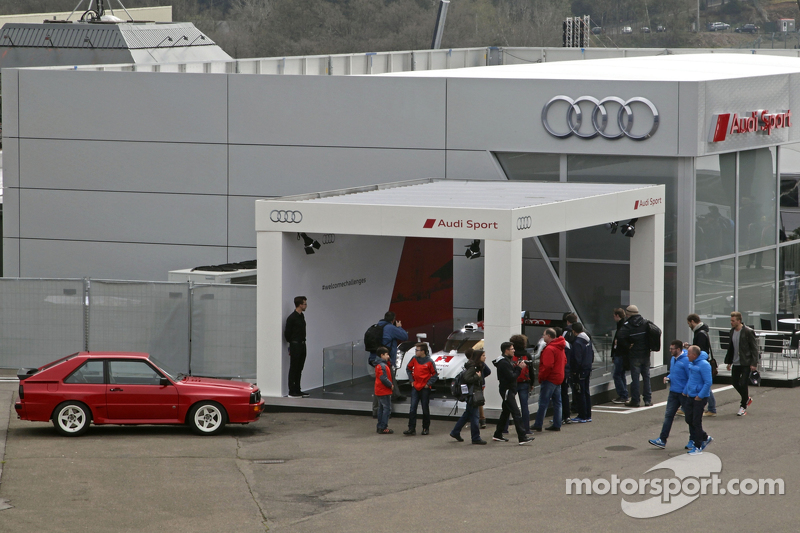 Audi Sport Team Joest, Hospitality