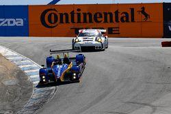 #16 BAR1 Motorsports, Oreca FLM09: Todd Slusher, John Falb und #911 Porsche North America, Porsche 9