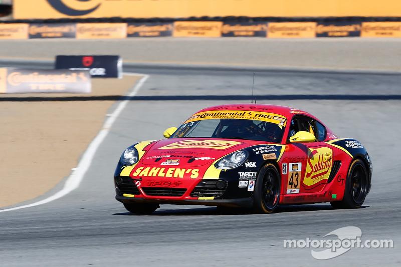 #43 Team Sahlen's Porsche Cayman: Michael Valiante, Will Nonnamaker