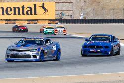 #9 Stevenson Motorsports, Chevrolet Camaro Z/28.R: Andy Lally, Matt Bell