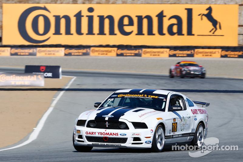#78 Racers Edge Motorsports,福特野马302R: David Levine, Lucas Bize
