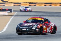 #87 Rebel Rock Racing, Porsche Cayman: Gary Browne, Kevin Wheeler