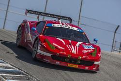 #63 Scuderia Corsa 法拉利 458 Italia: Bill Sweedler, Townsend Bell