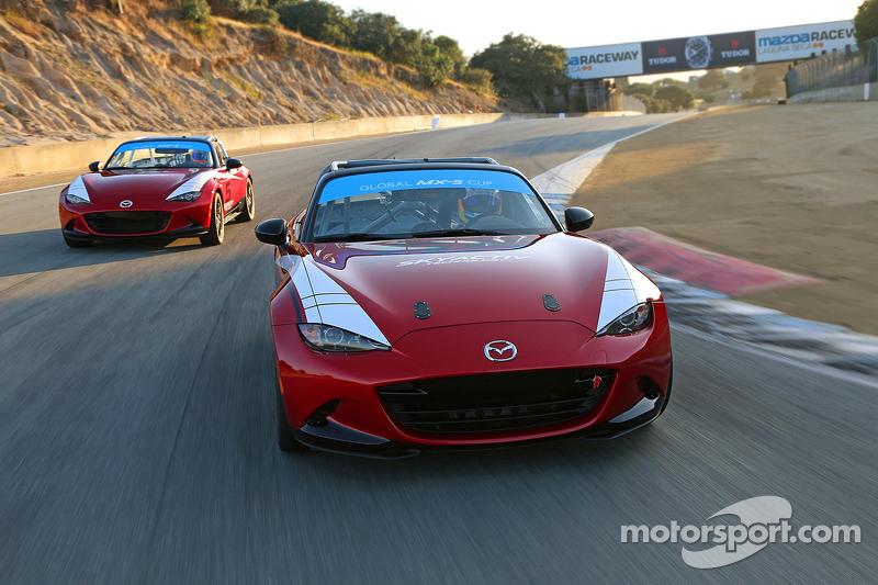 Global MX-5 Cup, Testfahrten am Mazda Raceway