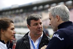 Martin Brundle y Jens Marquardt, director de BMW Motorsport