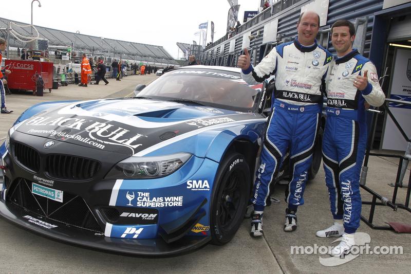 Marco Attard y Alexander Sims, Ecurie Ecosse BMW Z4 GT3