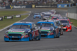 Mark Winterbottom and Chaz Mostert, Prodrive Racing Australia Fords