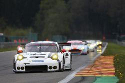 #91 Porsche Team Manthey 911 RSR: Richard Lietz and Michael Christensen