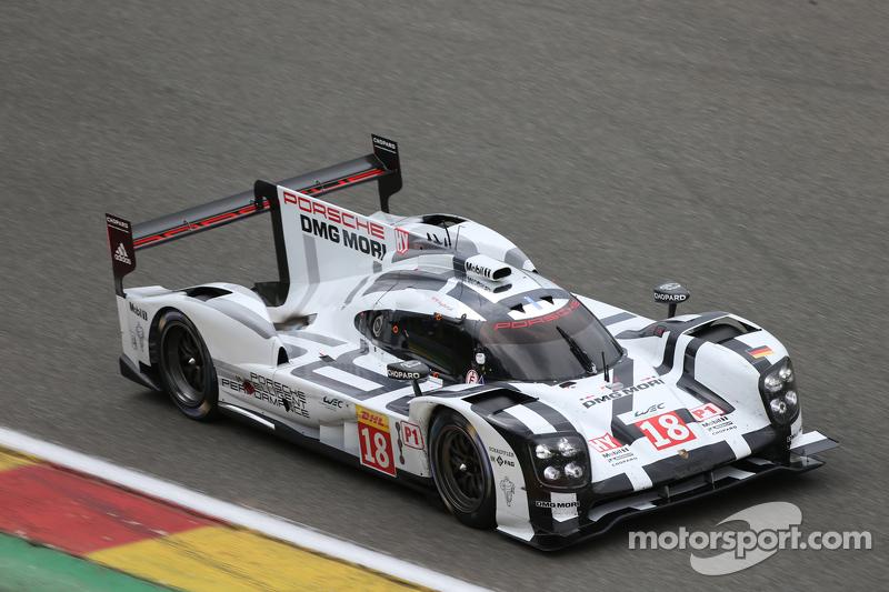 #18 Porsche Team 919 Hybrid: Romain Dumas, Neel Jani, Marc Lieb