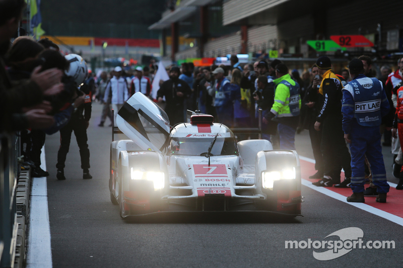 2015 : Audi Sport Team Joest